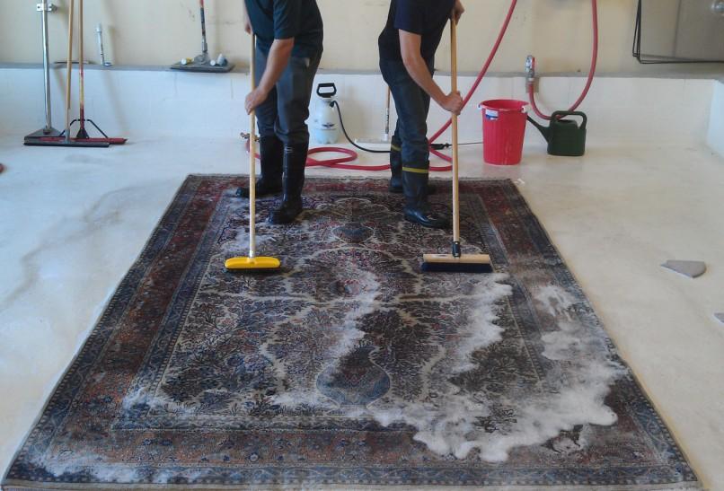 Мытье ковров